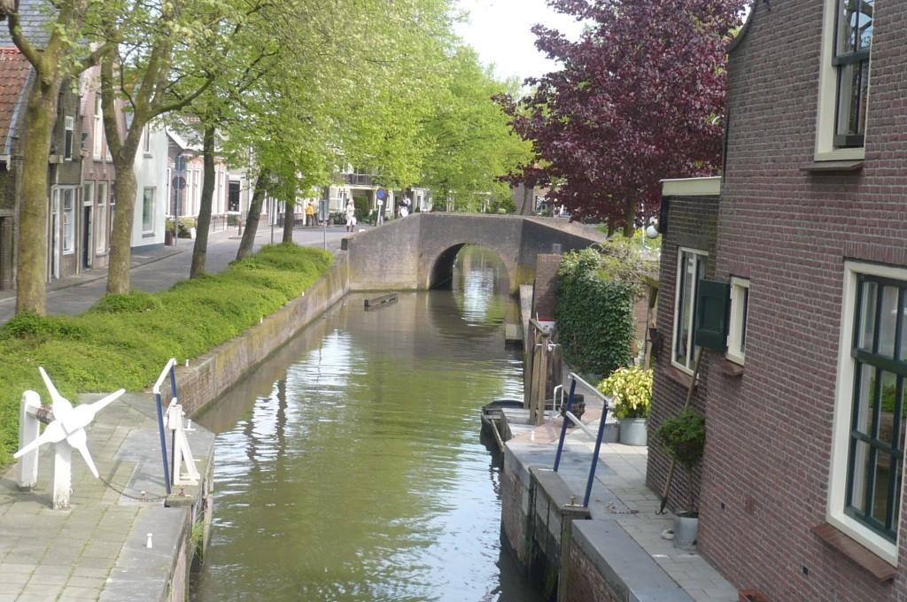 De kolk bij Amsterdamseveer en de Heulbrug